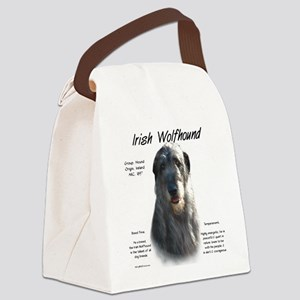 Irish Wolfhound (grey) Canvas Lunch Bag