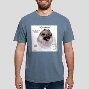 Keeshond Mens Comfort Colors Shirt
