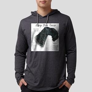 Kerry Blue Terrier Mens Hooded Shirt