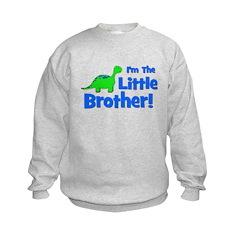 I'm The Little Brother! Dinos Sweatshirt