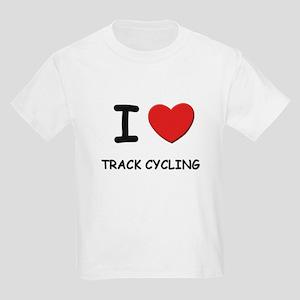 I love track cycling Kids Light T-Shirt