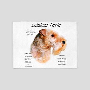 Lakeland Terrier 5'x7'Area Rug