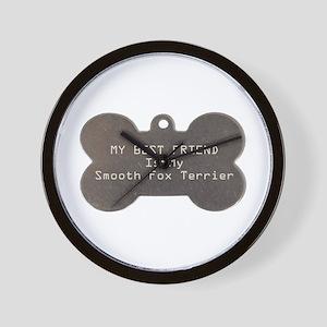 Foxie Friend Wall Clock