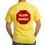 SLOWDown Yellow T-Shirt