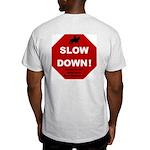 SLOWDown Ash Grey T-Shirt