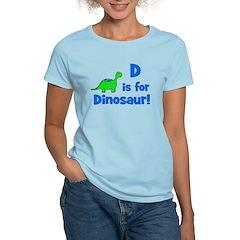D is for Dinosaur! Women's Light T-Shirt