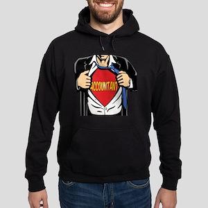 Super Accountant Hoodie (dark)