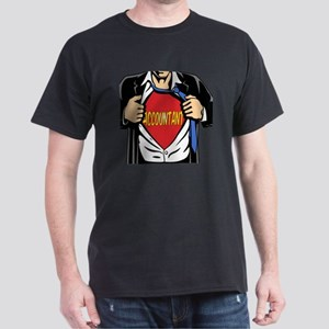 Super Accountant Dark T-Shirt
