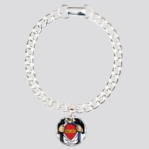Super Accountant Charm Bracelet, One Charm