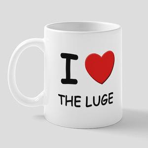 I love the luge  Mug