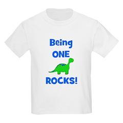 Being One Rocks! Dinosaur T-Shirt