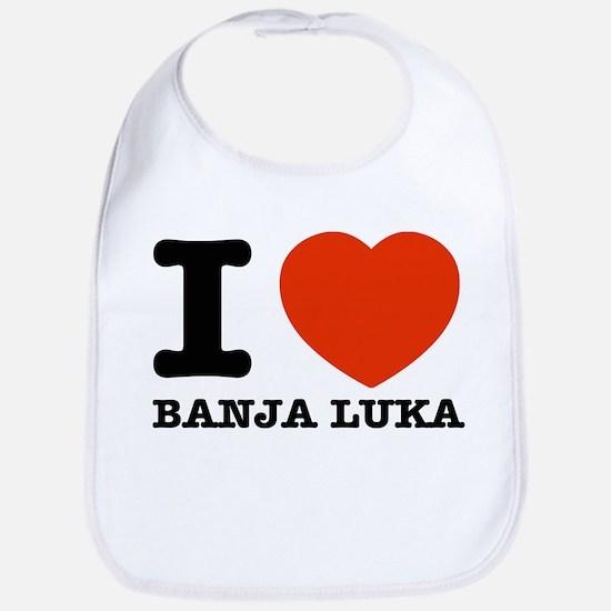 I LOVE Banja luka Bib