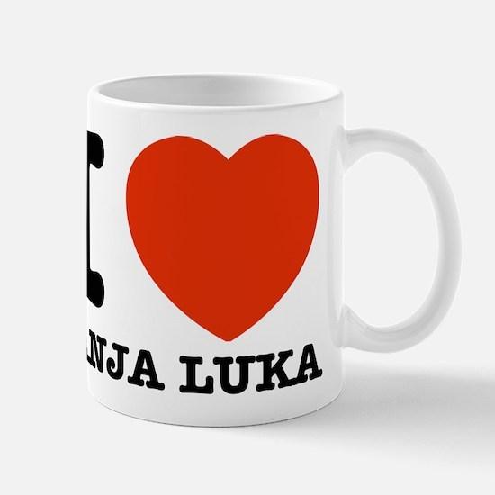 I LOVE Banja luka Mug
