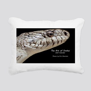 Snake Calendar Cover Rectangular Canvas Pillow
