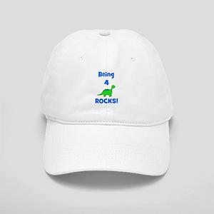641ab4c8829 Happy 4th Birthday Hats - CafePress