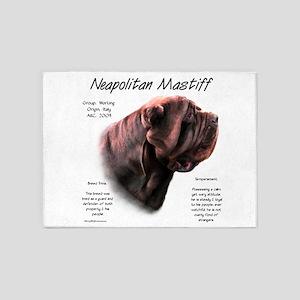 Neo Mastiff (mahogany) 5'x7'Area Rug