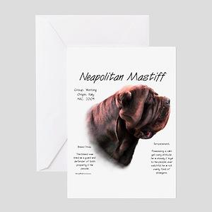 Neo Mastiff (mahogany) Greeting Card