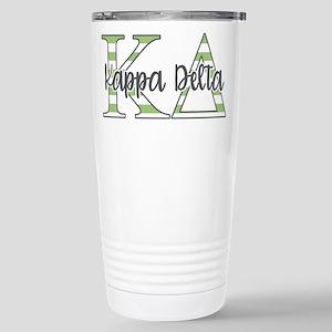 Kappa Delta Letters Str Stainless Steel Travel Mug