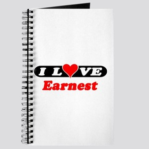 I Love Earnest Journal