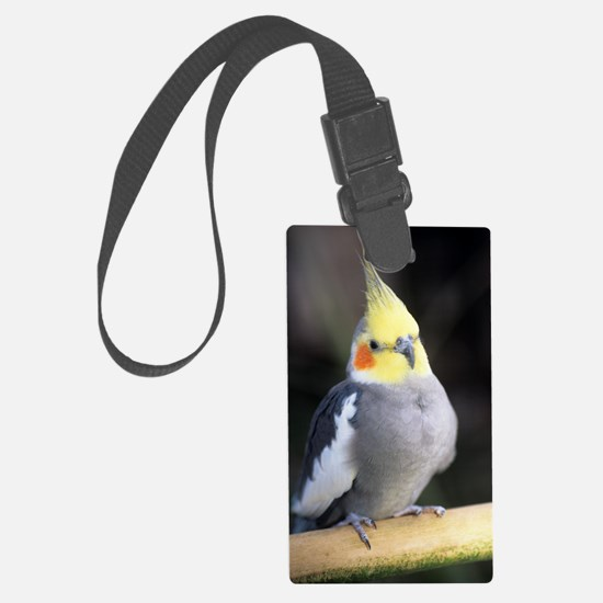 Cockatiel Luggage Tag