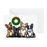 French bulldog Greeting Cards (20 Pack)