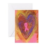 Breast Cancer Awareness Cards (Pk of 10)
