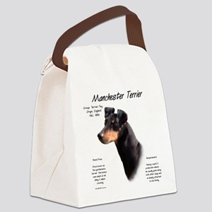 Manchester Terrier Canvas Lunch Bag