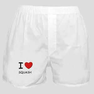 I love squash  Boxer Shorts