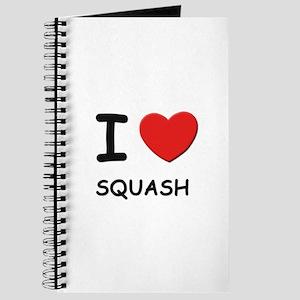 I love squash Journal