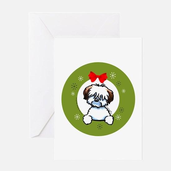 Coton de Tulear Christmas Greeting Card