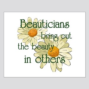 Beautician Small Poster