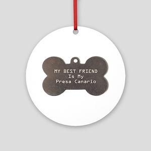 Presa Friend Ornament (Round)