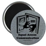 """Equal Access Communication 2.25"""" Magnet (10 pack)"""