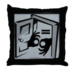 Equal Access Communication Throw Pillow
