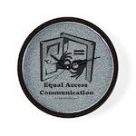 Equal Access Communication Wall Clock