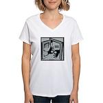 Equal Access Communication Women's V-Neck T-Shirt