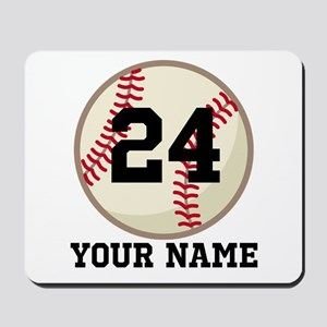 Personalized Baseball Sports Mousepad