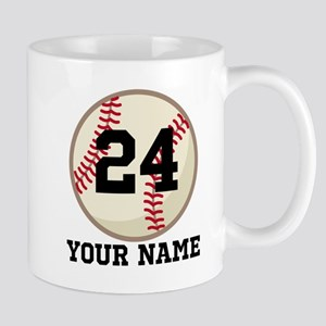Personalized Baseball Sports Mugs