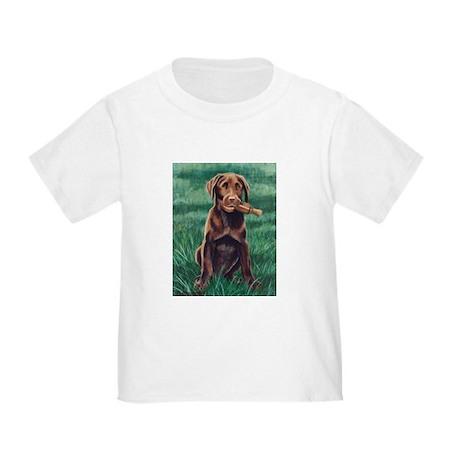 Choc Lab Puppy Toddler T-Shirt