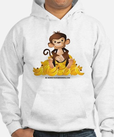 MGB - Monkey Sitting on Pile of  Jumper Hoody