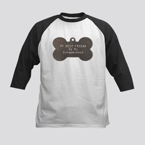 Schapendoes Friend Kids Baseball Jersey