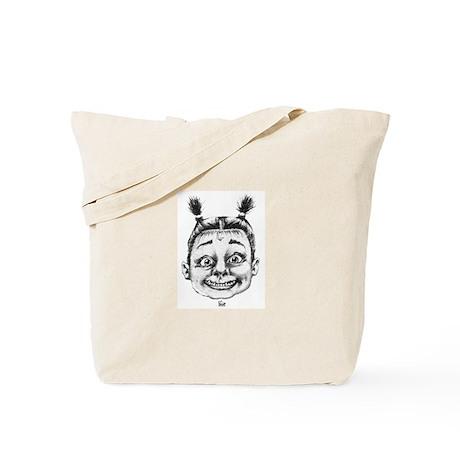 Pie Brand 'Demented Child' solo Tote Bag
