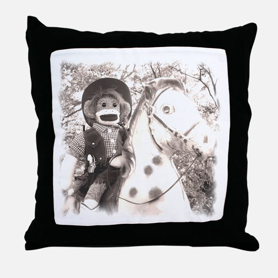 Cowgirl Emma Throw Pillow