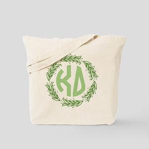 Kappa Delta Letters Wreath Tote Bag