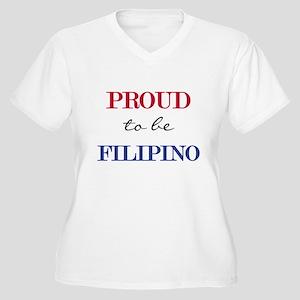Filipino Pride Women's Plus Size V-Neck T-Shirt