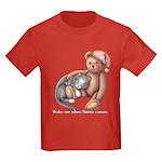 Miss B and Teddy Kids Dark T-Shirt