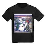 Snowcats Kids Dark T-Shirt