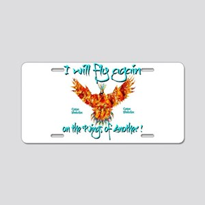 PhoenixOrganDonar Aluminum License Plate