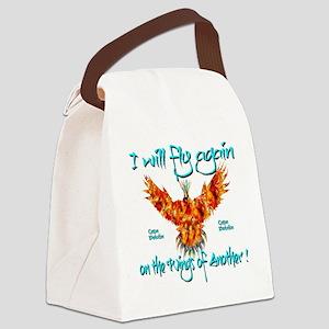 PhoenixOrganDonar Canvas Lunch Bag