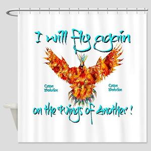 PhoenixOrganDonar Shower Curtain